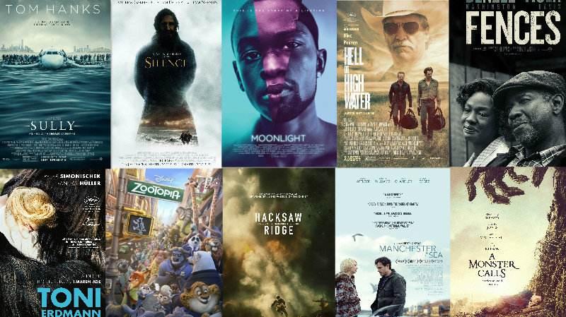 2017年年度十佳电影新鲜出炉! The 10 best films of 2017