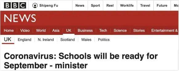 官宣!英国学校9月全面复课,这份留学入境...